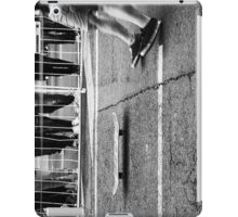 Skateboarders and board iPad Case/Skin