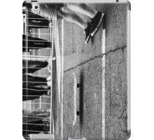 Skateboarders and board iPad Case/Skin