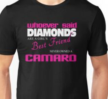Girl's Best Friend - Camaro Unisex T-Shirt