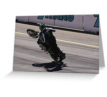 2013 Clipsal 500 Day 3 Stunt Bikes Greeting Card