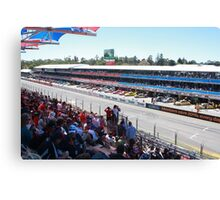 2013 Clipsal 500 Day 3 Pit Straight Canvas Print