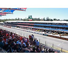 2013 Clipsal 500 Day 3 Pit Straight Photographic Print