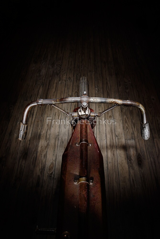 Indian Board Track Rider's View by Frank Kletschkus