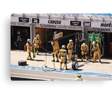 2013 Clipsal 500 Day 3 V8 Supercars - Pit Crew Canvas Print