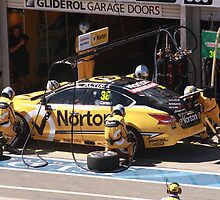 2013 Clipsal 500 Day 3 V8 Supercars - Caruso Pit Stop by Stuart Daddow Photography