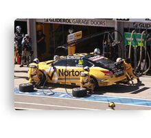 2013 Clipsal 500 Day 3 V8 Supercars - Caruso Pit Stop Canvas Print
