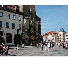Astronomical Clock Prague Photographic Print