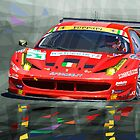 Ferrari 458 GTC AF Corse by Yuriy Shevchuk