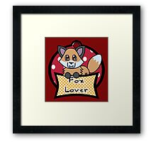 Fox Lover 1 Framed Print