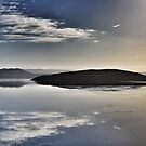 Icelandic lake by Debbie Ashe