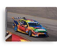 2013 Clipsal 500 Day 3 V8 Supercars - W.Davison Canvas Print