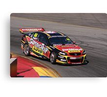 2013 Clipsal 500 Day 3 V8 Supercars - Ingall Canvas Print