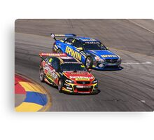 2013 Clipsal 500 Day 3 V8 Supercars - Ingall, Holdsworth Canvas Print