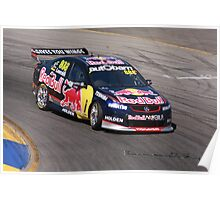 2013 Clipsal 500 Day 3 V8 Supercars - Lowndes Poster