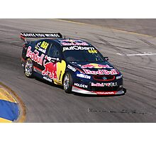 2013 Clipsal 500 Day 3 V8 Supercars - Lowndes Photographic Print