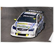 2013 Clipsal 500 Day 3 V8 Supercars - Webb Poster