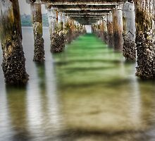 Under the boardwalk by Chris Brunton