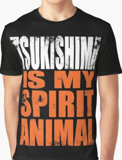 Tsukishima is my Spirit Animal Graphic T-Shirt