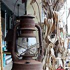 old lantern by bullsnook