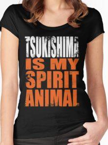 Tsukishima is my Spirit Animal Women's Fitted Scoop T-Shirt