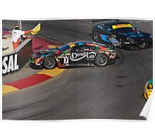 2013 Clipsal 500 Day 3 Australian GT Championship Poster