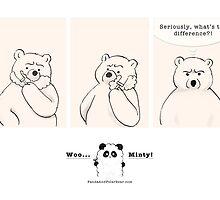 Woo...Minty! by Panda And Polar Bear
