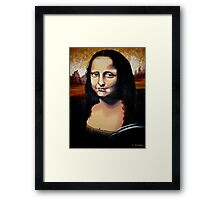 Mona Framed Print