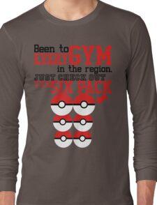 Pokemon gym monkey Long Sleeve T-Shirt