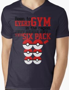 Pokemon gym monkey Mens V-Neck T-Shirt