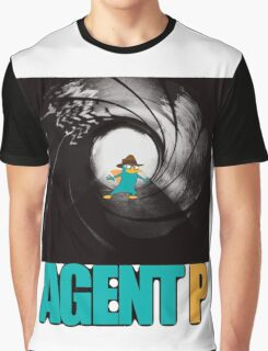 phineas and ferb perry the platypus agent p Graphic T-Shirt