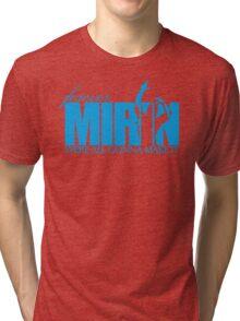Forever Mirin (version 2 blue) Tri-blend T-Shirt