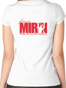 Forever Mirin (version 1 red) Women's Fitted Scoop T-Shirt