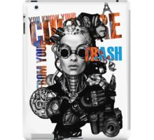 Your culture from your trash iPad Case/Skin