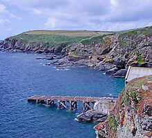 The old lifeboat slipway by Rich51
