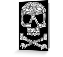 Game or Die Greeting Card