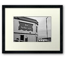 Belle Vue Framed Print