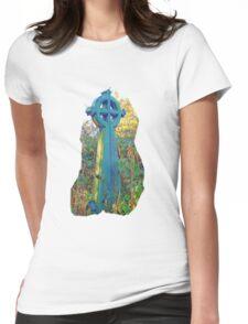 Graveyard Cross  Womens Fitted T-Shirt