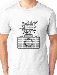 Camera SLR Flash_Grey T-Shirt