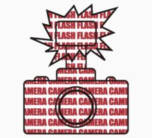 Camera SLR Flash_Red by Phillip Shannon