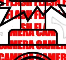 Camera SLR Flash_Red Sticker