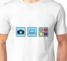 Camera Production Unisex T-Shirt
