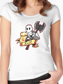Roll for Rage! Women's Fitted Scoop T-Shirt