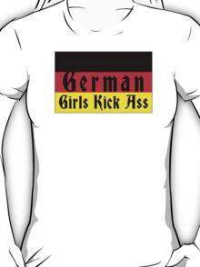 German Girls Kick Ass T-Shirt