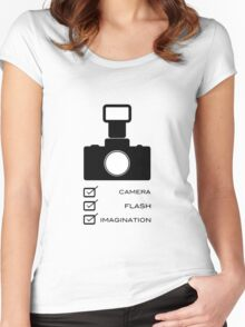 Photographers imagination Women's Fitted Scoop T-Shirt