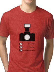Photographers imagination Tri-blend T-Shirt
