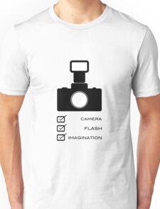 Photographers imagination Unisex T-Shirt
