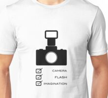 Photographers imagination Unisex T-Shirt
