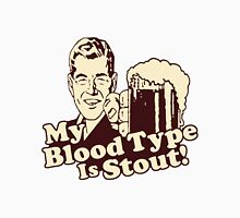 My Blood Type is Stout Unisex T-Shirt