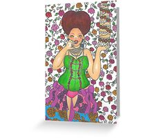 Let Her Eat Cake Greeting Card