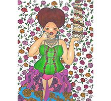 Let Her Eat Cake Photographic Print